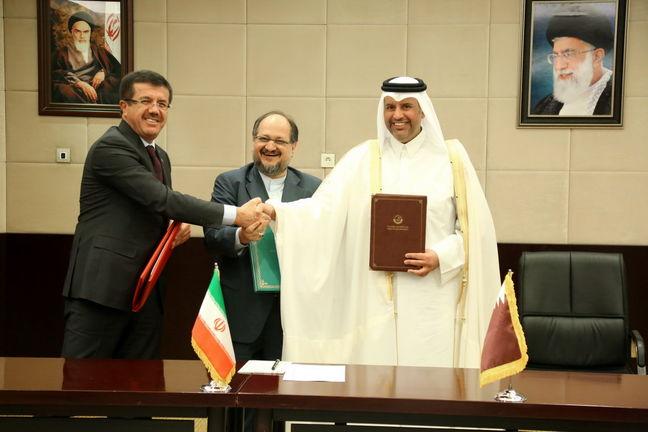 Iran, Turkey, Qatar Sign Deal to Ease Doha Blockade