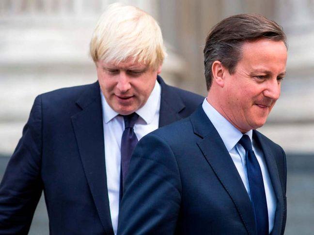 Ex-PM Cameron Slams Johnson Over Brexit