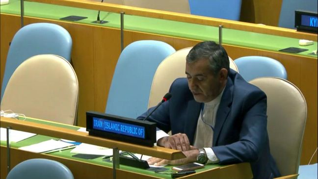 Iran: Netanyahu's allegations at UNGA deceiving