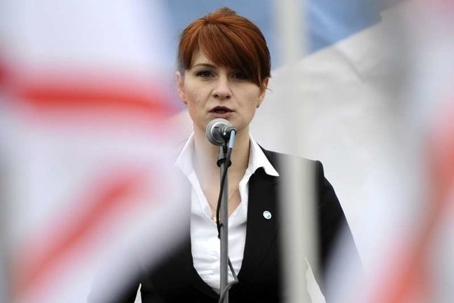 Accused Russian agent Butina met with U.S. Treasury, Fed officials