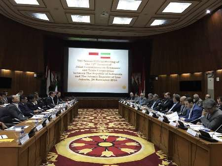 Iran-Indonesia Joint Economic Commission meeting opens in Jakarta