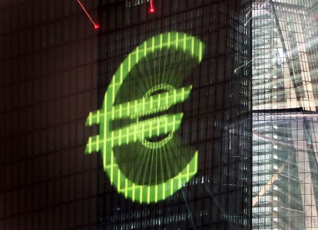 Euro zone inflation jumps past ECB target