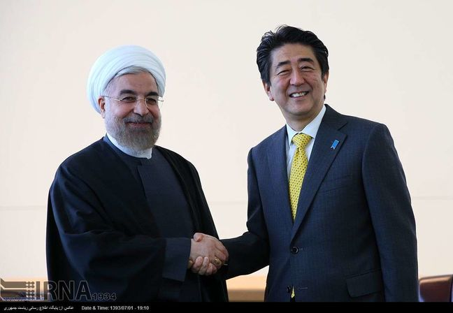 President urges promoting Iran-Japan cooperation in post-JCPOA era