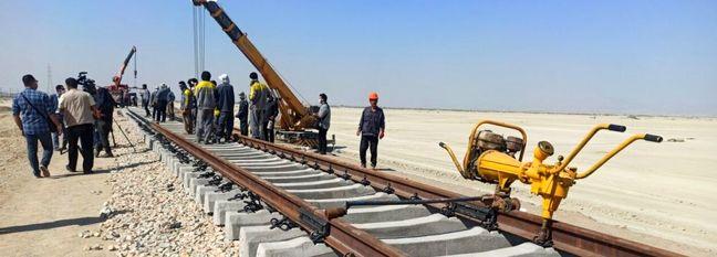 Chabahar-Zahedan Rail Project Progresses by 48%