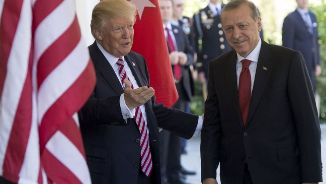 Trump Tries to Reassure Erdogan After U.S. Plan to Arm Kurds