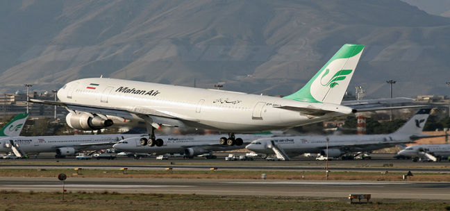 Iran Airport Traffic Increases by 8 Percent