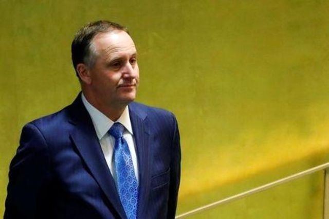 New Zealand PM Key announces shock resignation, backs Finance Minister
