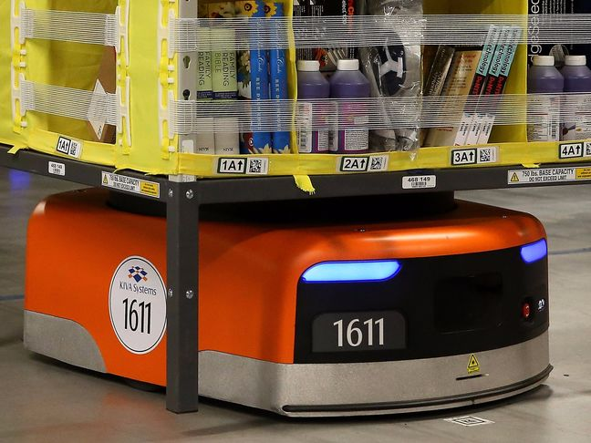 Amazon's Robot War Is Spreading