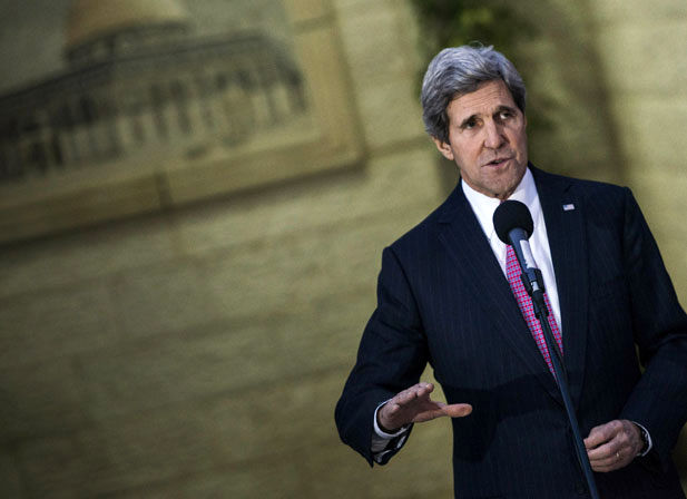 Kerry Plans to Present Vision for an Israeli-Palestinian Accord