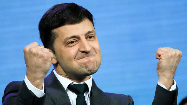Comedian Wins Ukraine Presidential Election