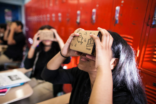 Virtual Reality Classrooms Another Way Chinese Kids Gain an Edge
