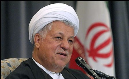 Ayat. Rafsanjani's commemoration service held on his tomb