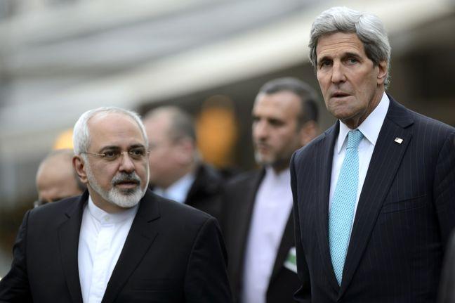 """Kerry calls Zarif a real """"Patriot"""""""