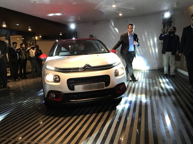 SAIPA Unveils Citroen C3 New Model in Tehran Bash