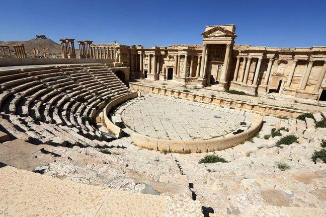 Islamic State Destroys Part of Roman Amphitheater in Palmyra