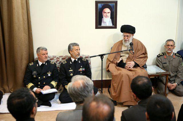Navy's presence in international waters should continue: Ayatollah Khamenei