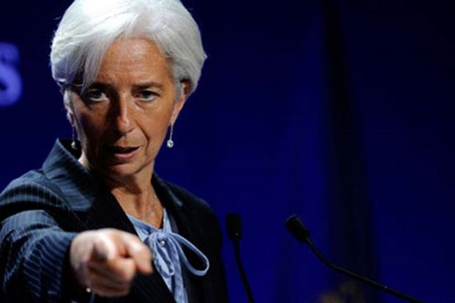 IMF's Lagarde: growth strengthens but 'wrong' policies may halt it