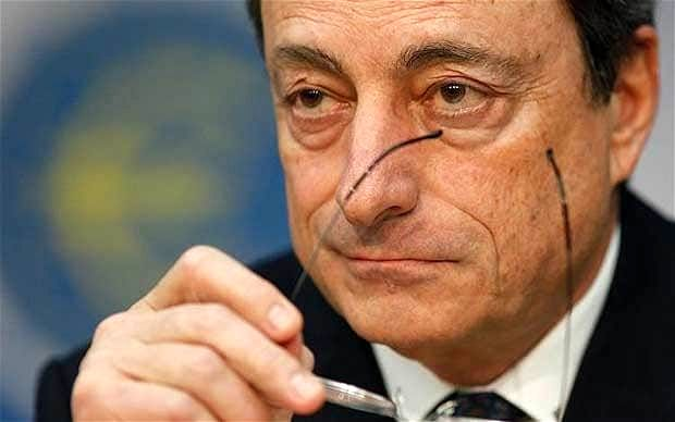 Draghi Says $2.4 Trillion Stimulus May Not Be Enough for ECB