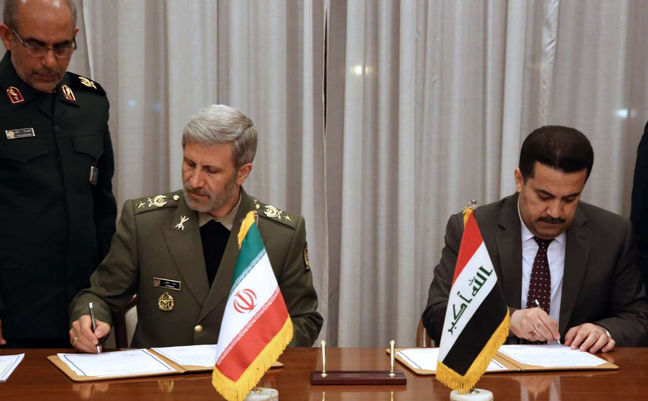 Iran to Help Develop Iraqi Military Industry