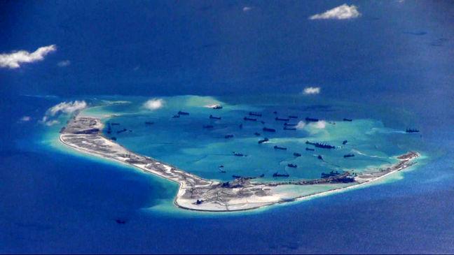 China says United States should 'brush up on' South China Sea history