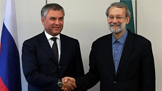 Iran, Russia engaged in real fight against terrorism: Larijani