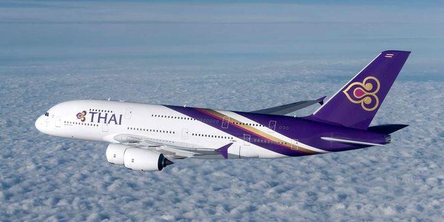1st Thai passenger plane lands on Imam Khomeini Int'l Airport