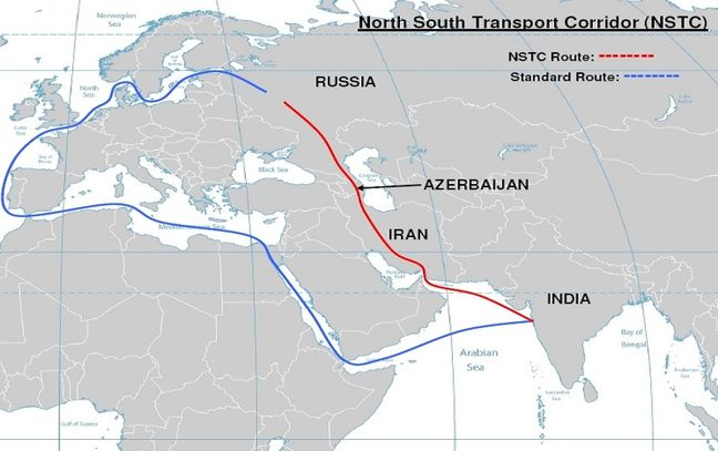 Iran, Russia map out rival to Suez Canal