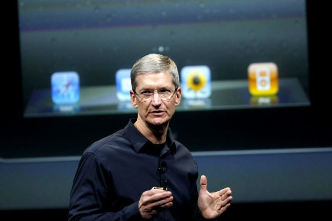 Apple CEO touts future technology amid iPhone worries