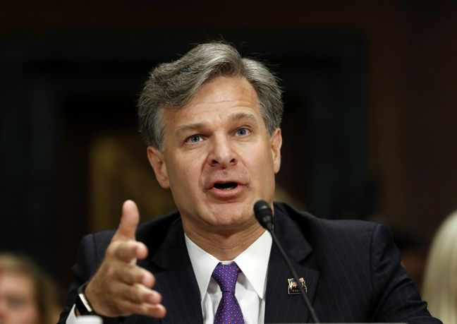Wray confirmed by Senate to lead FBI after Comey firing