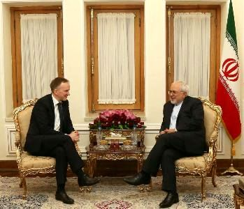 Zarif: Iran, Latvia broadening all-out relations