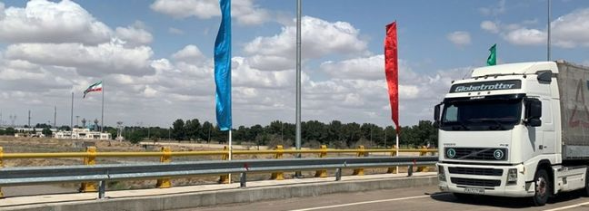 Sarakhs Transit Bridge Opens Temporarily for Vehicular Movement