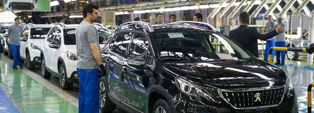 Iran Auto Industry in Disarray