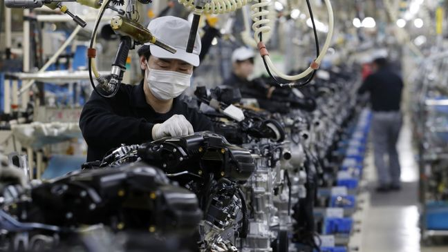 Asian factories hobble as soft global demand hits sales