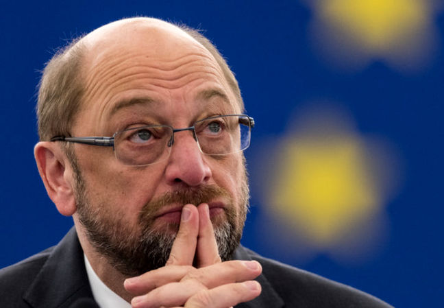 Schulz Says Merkel Has 'Unsettled' Europe