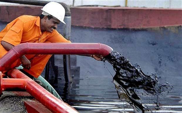 Iran Crude Oil Trading Above $50
