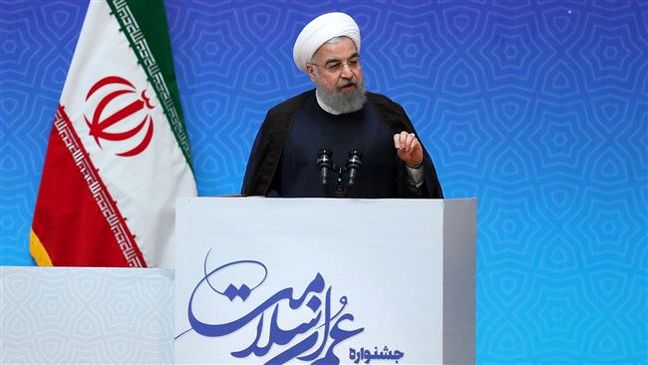 Nuclear-related sanctions hurt Iranian people, not government: President Rouhani