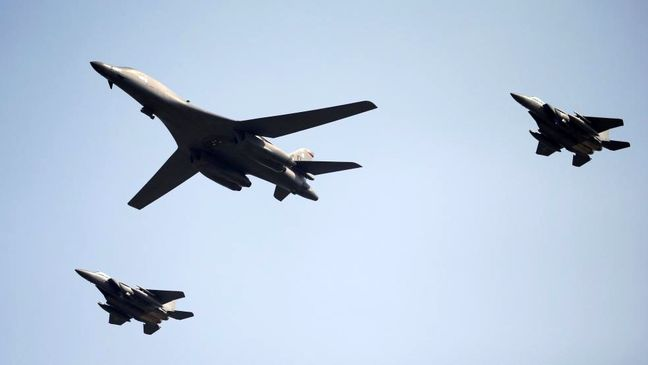 U.S. bombers fly over South Korea for second time since North's nuclear test