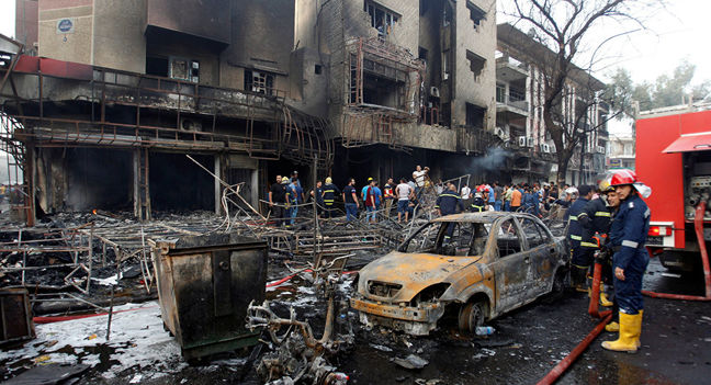 Two Explosions in Baghdad Leave at Least 28 Dead, 54 Injured