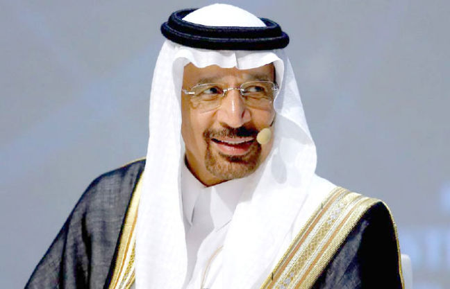 Saudi's Falih Sees No Need to Alter Oil-Cuts Deal, Interfax Says