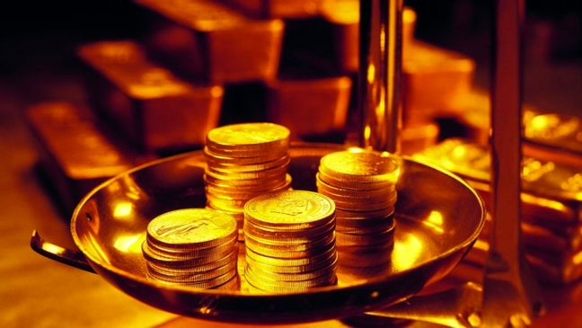 Gold Coin Surges