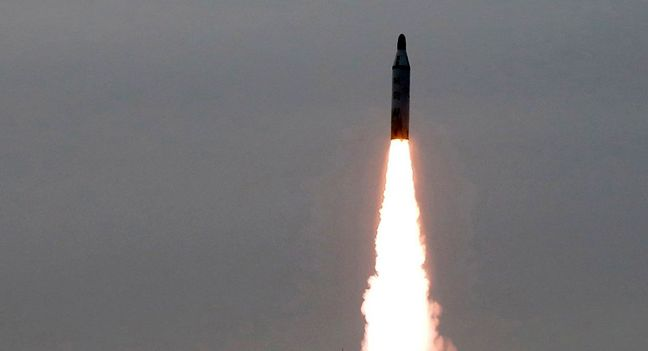 North Korea fires submarine-launched ballistic missile towards Japan