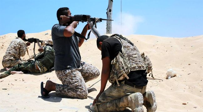 Libyan forces in fresh clashes with Islamic State in Sirte