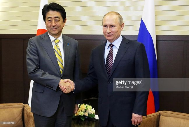 Japan woos Russia with deeper economic ties in face of rising China
