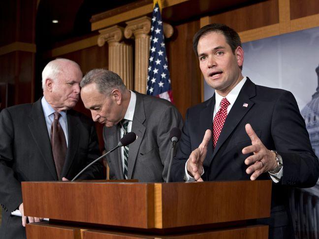 Trump hovers over McCain, Rubio U.S. Senate re-election contests