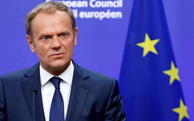EU's Tusk Suggests Holding Another Brexit Referendum