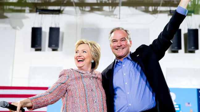 Hillary Clinton Selects Tim Kaine as Running Mate