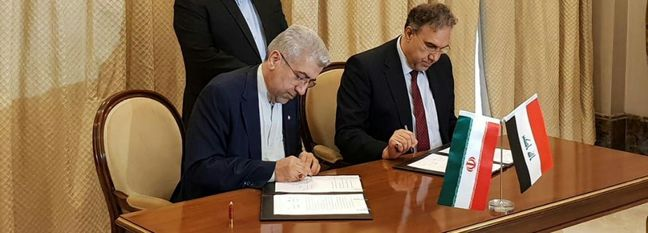 Iran, Iraq Sign Agreement to Boost Energy Ties
